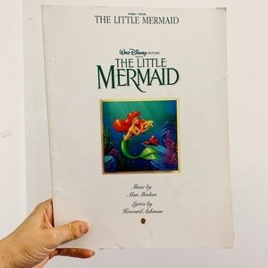 Disney's The Little Mermaid Sheet Music Book